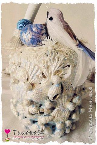 Морской топиарий Голубая лагуна от Алены Тихоновой фото 5