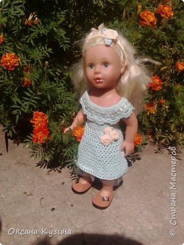 Платье для кукол и ободок фото 1