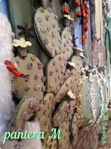 Добрый день! Картина сделана для часной кактусной оранжереи. фото 5