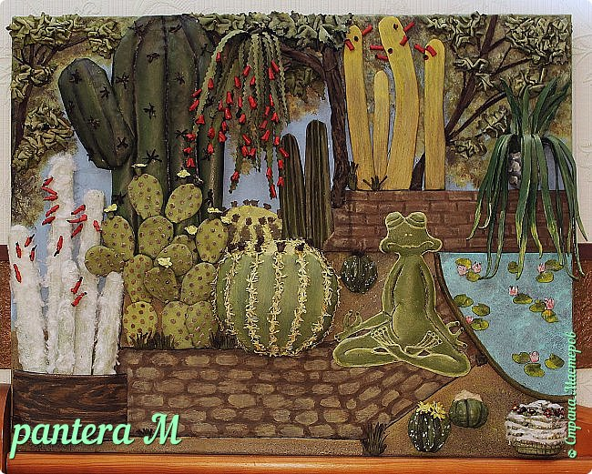 Добрый день! Картина сделана для часной кактусной оранжереи. фото 1