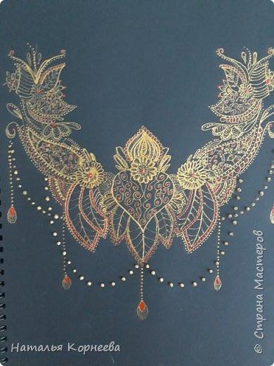 Точечная роспись и акриловый конус фото 2