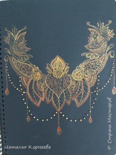 Точечная роспись и акриловый конус фото 3