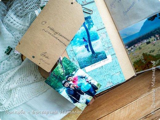 Моя последняя долгостройная работа с мастер-класса Эли Гафаровой - дневник - готова. Поскольку странички в дневник уже дома оформляла, то без фото из Архыза обойтись было бы странно. Причём, я решила вместе с фото участниц скрап-феста сохранить их АТС-ки и открытки. Хранить их отдельно не хотелось. фото 20