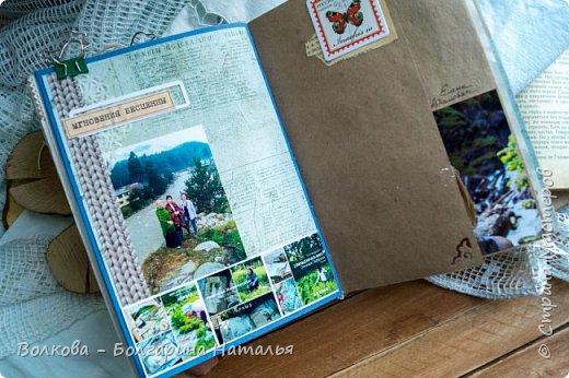 Моя последняя долгостройная работа с мастер-класса Эли Гафаровой - дневник - готова. Поскольку странички в дневник уже дома оформляла, то без фото из Архыза обойтись было бы странно. Причём, я решила вместе с фото участниц скрап-феста сохранить их АТС-ки и открытки. Хранить их отдельно не хотелось. фото 27
