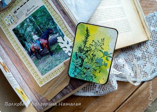 Моя последняя долгостройная работа с мастер-класса Эли Гафаровой - дневник - готова. Поскольку странички в дневник уже дома оформляла, то без фото из Архыза обойтись было бы странно. Причём, я решила вместе с фото участниц скрап-феста сохранить их АТС-ки и открытки. Хранить их отдельно не хотелось. фото 34