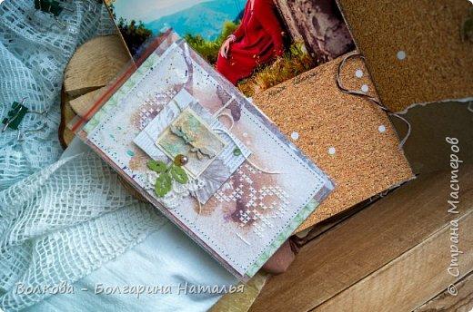 Моя последняя долгостройная работа с мастер-класса Эли Гафаровой - дневник - готова. Поскольку странички в дневник уже дома оформляла, то без фото из Архыза обойтись было бы странно. Причём, я решила вместе с фото участниц скрап-феста сохранить их АТС-ки и открытки. Хранить их отдельно не хотелось. фото 9