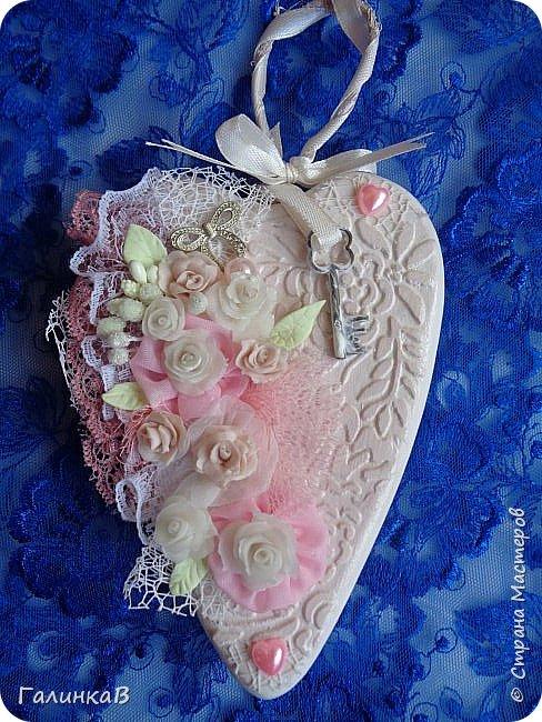 Добрый всем день! Вот такие два сердечка сделала в подарок двум очаровательным молодым женщинам. Поедут со мной в Оренбургскую область. фото 2