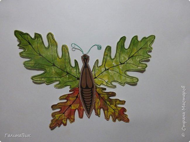 Всем добрый вечер! Для оформления школьного стенда ко Дню знаний придумала образы листьев в виде бабочек. фото 2