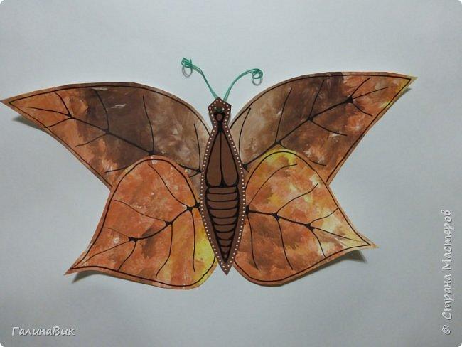 Всем добрый вечер! Для оформления школьного стенда ко Дню знаний придумала образы листьев в виде бабочек. фото 6