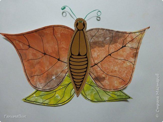 Всем добрый вечер! Для оформления школьного стенда ко Дню знаний придумала образы листьев в виде бабочек. фото 7