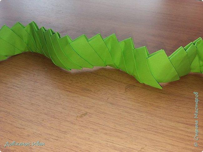 Добрый день ! Сделал я вот такую несложную змейку и провёл занятие по ней с детьми   фото 2