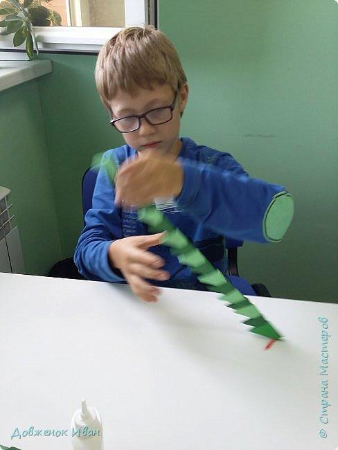 Добрый день ! Сделал я вот такую несложную змейку и провёл занятие по ней с детьми   фото 9