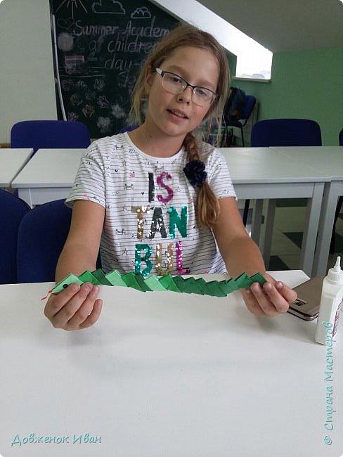 Добрый день ! Сделал я вот такую несложную змейку и провёл занятие по ней с детьми   фото 11