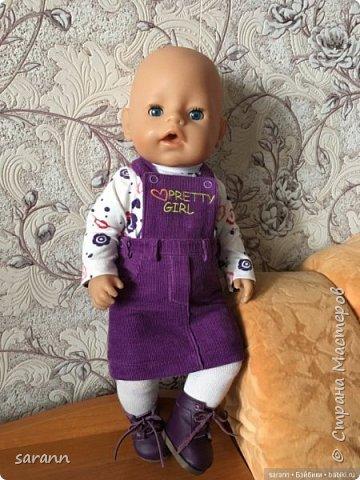 Одежда и обувь для BabyBorn  фото 8