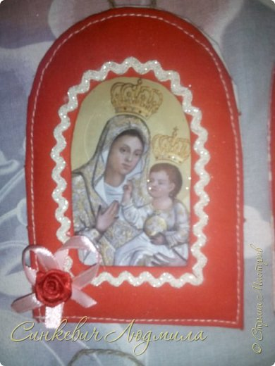 Иконка Марии в рамке фото 1