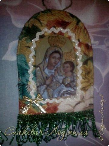 Иконка Марии в рамке фото 2