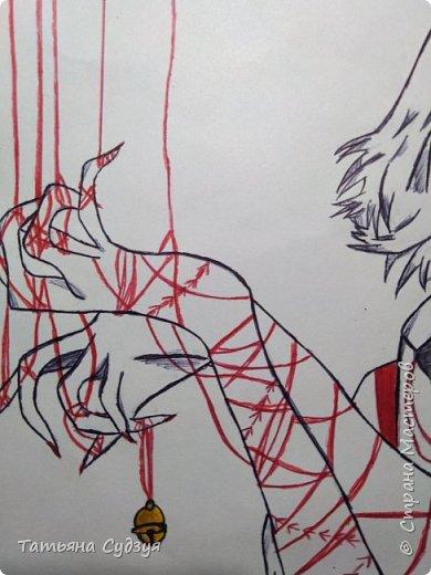 """Доброго времени суток жители Страны Мастеров! Давно я не выкладывала свои работы и вот наконец-то! Я закончила свой арт из аниме """"Токийский гуль"""" фото 2"""