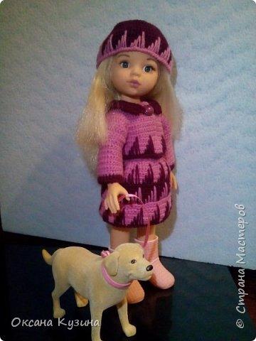 Костюм для куклы Осенняя прогулка. фото 3