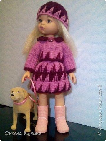 Костюм для куклы Осенняя прогулка. фото 2