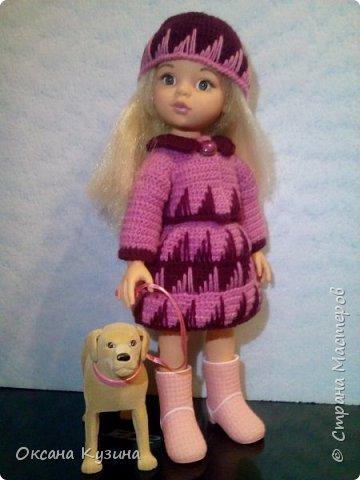 Костюм для куклы Осенняя прогулка. фото 1