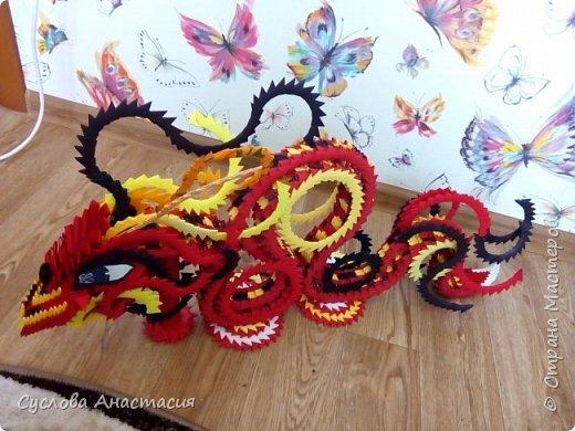 Красный дракон фото 5