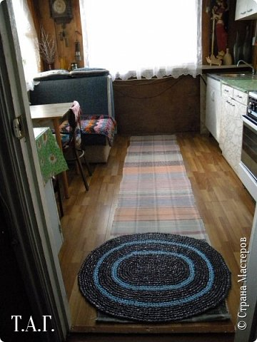 """Любите ли вы коврики и половички, так как люблю их я? Еще в 2013 году в """"Презенте от Голубки"""" показывала бабушкины коврики на новый лад https://stranamasterov.ru/node/522866?t=1711 . фото 7"""