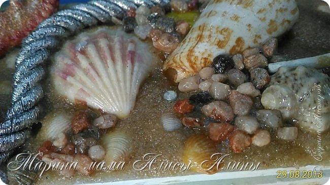 Здравствуйте! Давненько меня не было в Стране!Но я без дела не сидела) Сделала свою давнишнюю хотелку-Морское зеркало в ванну. фото 5