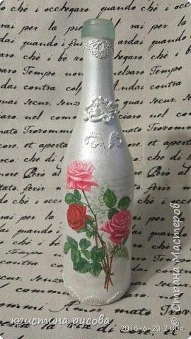 декор и декупаж бутылки