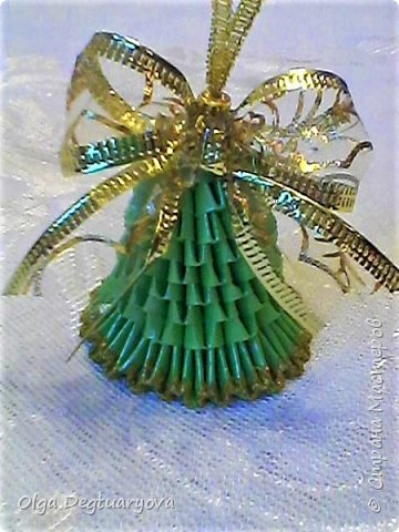 Здравствуйте, друзья! Посмотрев великолепные колокольчики, сделанные ВиолеттойМ (https://stranamasterov.ru/node/1152925?tid=328), решила тоже поделиться своими запасами. Делала их в прошлом году в разном цвете. фото 3
