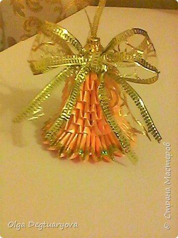 Здравствуйте, друзья! Посмотрев великолепные колокольчики, сделанные ВиолеттойМ (https://stranamasterov.ru/node/1152925?tid=328), решила тоже поделиться своими запасами. Делала их в прошлом году в разном цвете. фото 7