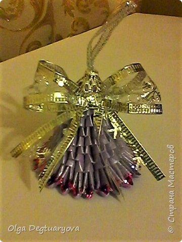 Здравствуйте, друзья! Посмотрев великолепные колокольчики, сделанные ВиолеттойМ (https://stranamasterov.ru/node/1152925?tid=328), решила тоже поделиться своими запасами. Делала их в прошлом году в разном цвете. фото 11