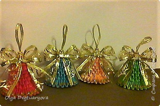 Здравствуйте, друзья! Посмотрев великолепные колокольчики, сделанные ВиолеттойМ (https://stranamasterov.ru/node/1152925?tid=328), решила тоже поделиться своими запасами. Делала их в прошлом году в разном цвете. фото 1