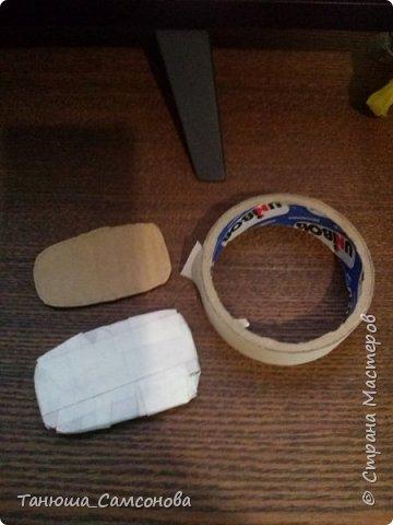 Материалы для изготовления ножек: Картон, малярный скотч, гипс, емкость для разведения гипса водой ( я использую одноразовый пластиковый стакан), ткань для обтягивания ножек , украшения на Ваше усмотрение. фото 2