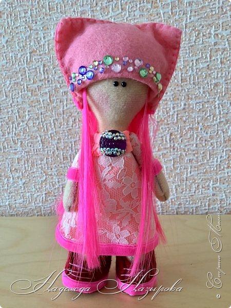 Здравствуйте, после продолжительного перерыва в творчестве возникло желание сделать куколку на день рождения дочери. Вот такая куколка получилась. фото 4