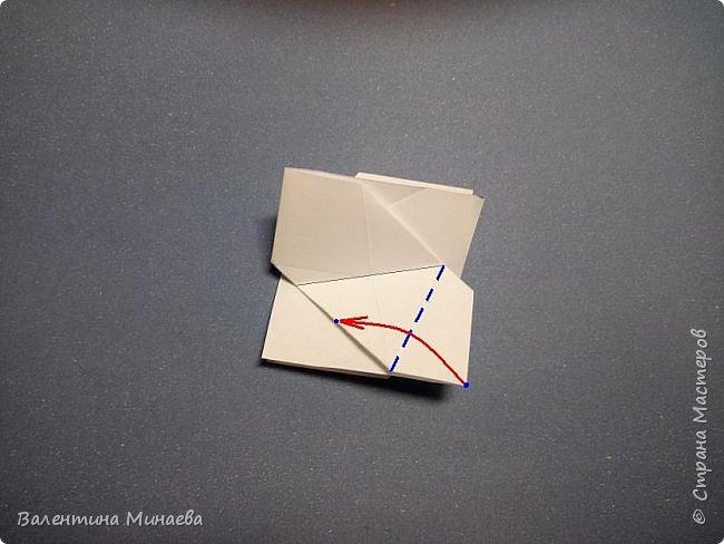 Здравствуйте!  Сегодня покажу МК на кусудаму Мельница (это одна из вариаций кусудамы Sunshine). Кстати, в Стране мастеров есть мастер-классы на другие вариации кусудамы Sunshine: https://stranamasterov.ru/node/1066992  https://stranamasterov.ru/node/1153058    Name: Mill (Sunshine var.) Designer: Valentina Minayeva Units: 30 Paper: 5,0 х 15,0 (1:3) Final height: ~ 11,0 cm without glue фото 17