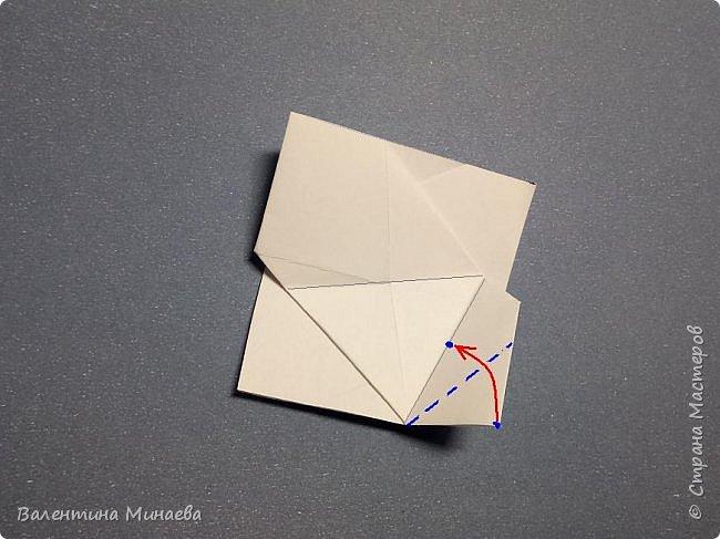 Всем привет! Еще один мастер-класс на кусудаму Сочный гранат (вариация кусудамы Sunshine). В Стране мастеров есть мастер-классы на другие вариации кусудамы Sunshine: https://stranamasterov.ru/node/1066992  https://stranamasterov.ru/node/1153054   Name: Juicy pomegranate (Sunshine var.) Designer: Valentina Minayeva Units: 30 Paper: 5,0 х 15,0 (1:3) Final height: ~ 12,5 cm without glue фото 19