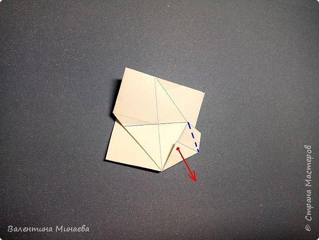 Здравствуйте!  Сегодня покажу МК на кусудаму Мельница (это одна из вариаций кусудамы Sunshine). Кстати, в Стране мастеров есть мастер-классы на другие вариации кусудамы Sunshine: https://stranamasterov.ru/node/1066992  https://stranamasterov.ru/node/1153058    Name: Mill (Sunshine var.) Designer: Valentina Minayeva Units: 30 Paper: 5,0 х 15,0 (1:3) Final height: ~ 11,0 cm without glue фото 20