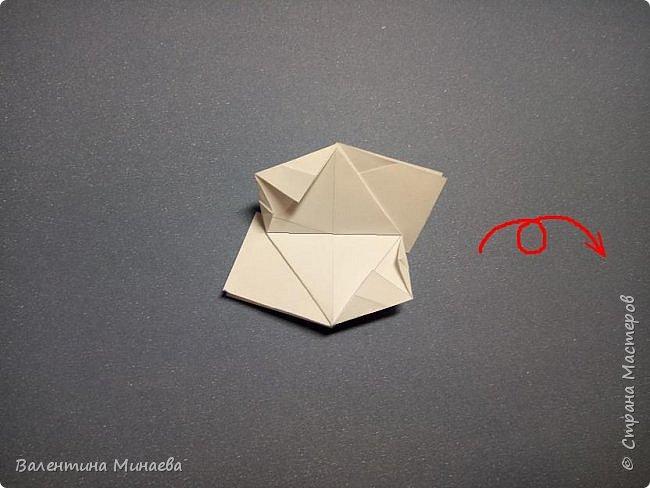 Всем привет! Еще один мастер-класс на кусудаму Сочный гранат (вариация кусудамы Sunshine). В Стране мастеров есть мастер-классы на другие вариации кусудамы Sunshine: https://stranamasterov.ru/node/1066992  https://stranamasterov.ru/node/1153054   Name: Juicy pomegranate (Sunshine var.) Designer: Valentina Minayeva Units: 30 Paper: 5,0 х 15,0 (1:3) Final height: ~ 12,5 cm without glue фото 21