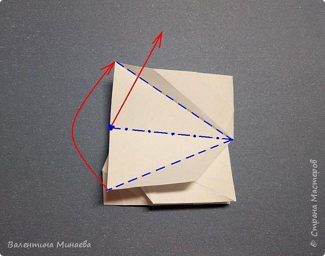 Здравствуйте!  Сегодня покажу МК на кусудаму Мельница (это одна из вариаций кусудамы Sunshine). Кстати, в Стране мастеров есть мастер-классы на другие вариации кусудамы Sunshine: https://stranamasterov.ru/node/1066992  https://stranamasterov.ru/node/1153058    Name: Mill (Sunshine var.) Designer: Valentina Minayeva Units: 30 Paper: 5,0 х 15,0 (1:3) Final height: ~ 11,0 cm without glue фото 24