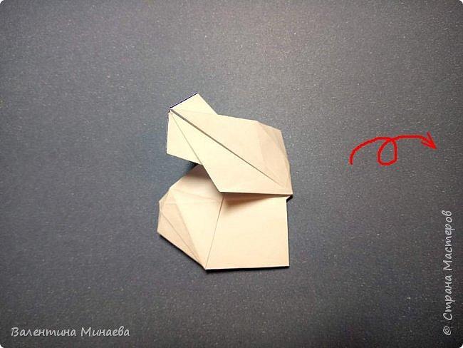 Всем привет! Еще один мастер-класс на кусудаму Сочный гранат (вариация кусудамы Sunshine). В Стране мастеров есть мастер-классы на другие вариации кусудамы Sunshine: https://stranamasterov.ru/node/1066992  https://stranamasterov.ru/node/1153054   Name: Juicy pomegranate (Sunshine var.) Designer: Valentina Minayeva Units: 30 Paper: 5,0 х 15,0 (1:3) Final height: ~ 12,5 cm without glue фото 26