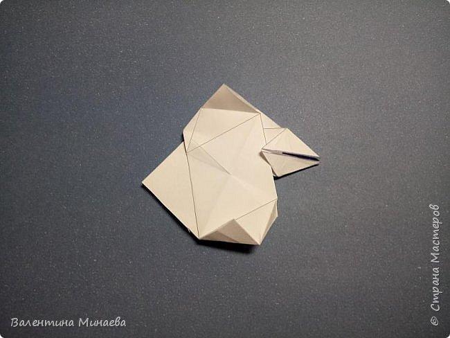 Всем привет! Еще один мастер-класс на кусудаму Сочный гранат (вариация кусудамы Sunshine). В Стране мастеров есть мастер-классы на другие вариации кусудамы Sunshine: https://stranamasterov.ru/node/1066992  https://stranamasterov.ru/node/1153054   Name: Juicy pomegranate (Sunshine var.) Designer: Valentina Minayeva Units: 30 Paper: 5,0 х 15,0 (1:3) Final height: ~ 12,5 cm without glue фото 31