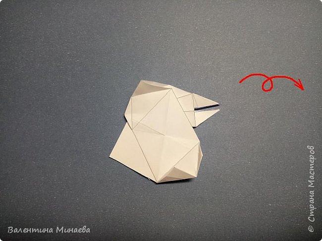 Всем привет! Еще один мастер-класс на кусудаму Сочный гранат (вариация кусудамы Sunshine). В Стране мастеров есть мастер-классы на другие вариации кусудамы Sunshine: https://stranamasterov.ru/node/1066992  https://stranamasterov.ru/node/1153054   Name: Juicy pomegranate (Sunshine var.) Designer: Valentina Minayeva Units: 30 Paper: 5,0 х 15,0 (1:3) Final height: ~ 12,5 cm without glue фото 33