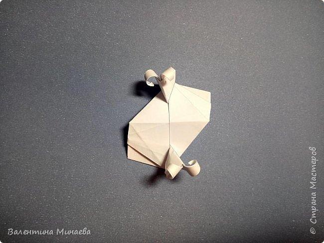 Всем привет! Еще один мастер-класс на кусудаму Сочный гранат (вариация кусудамы Sunshine). В Стране мастеров есть мастер-классы на другие вариации кусудамы Sunshine: https://stranamasterov.ru/node/1066992  https://stranamasterov.ru/node/1153054   Name: Juicy pomegranate (Sunshine var.) Designer: Valentina Minayeva Units: 30 Paper: 5,0 х 15,0 (1:3) Final height: ~ 12,5 cm without glue фото 38