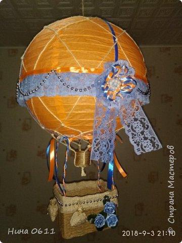 Доброго времени суток, дорогие жители Страны мастеров. Каждый ребенок мечтает улететь на таком воздушном шаре в сказочную страну.  фото 1
