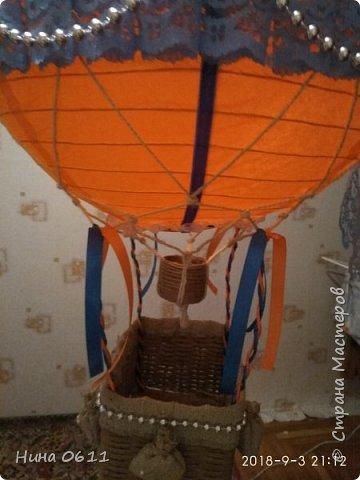 Доброго времени суток, дорогие жители Страны мастеров. Каждый ребенок мечтает улететь на таком воздушном шаре в сказочную страну.  фото 4