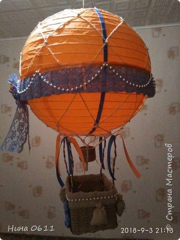 Доброго времени суток, дорогие жители Страны мастеров. Каждый ребенок мечтает улететь на таком воздушном шаре в сказочную страну.  фото 3