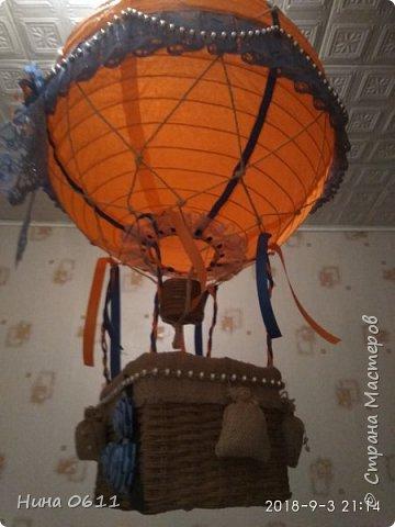 Доброго времени суток, дорогие жители Страны мастеров. Каждый ребенок мечтает улететь на таком воздушном шаре в сказочную страну.  фото 2