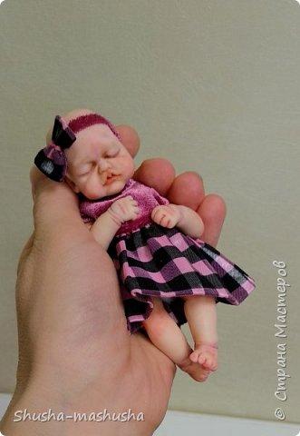 Вот такую малышку слепила из запекаемой пластики для своей дочурки. Тонировка пастелью, тело мягконабивное.  фото 2