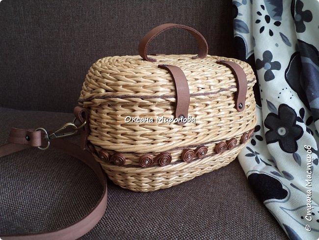 Добрый вечер! Спешу показать вам две новые сумочки. Первую плела на заказ. фото 17