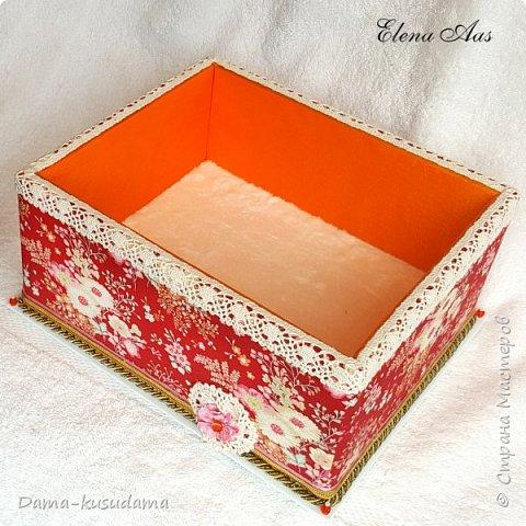 Сделала 3 большие коробки для хранения разных нужных вещей. фото 5